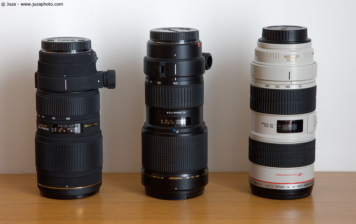 Canon Zoom Lens 70-200 The 70-200 F/2.8 Zooms Are
