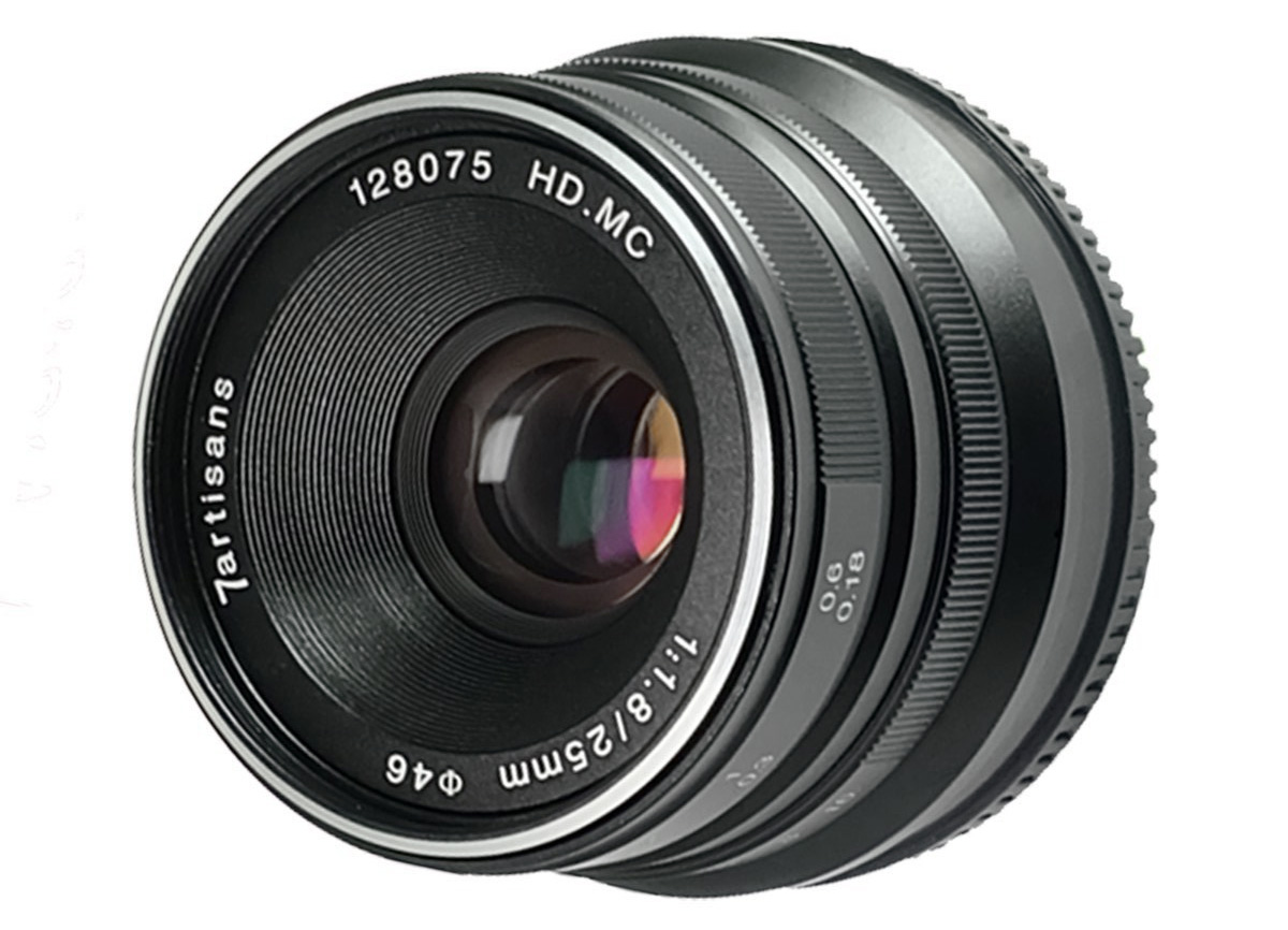 7artisans 25mm F 18 Specifications And Opinions Juzaphoto 12mm 28 For Fuji Black