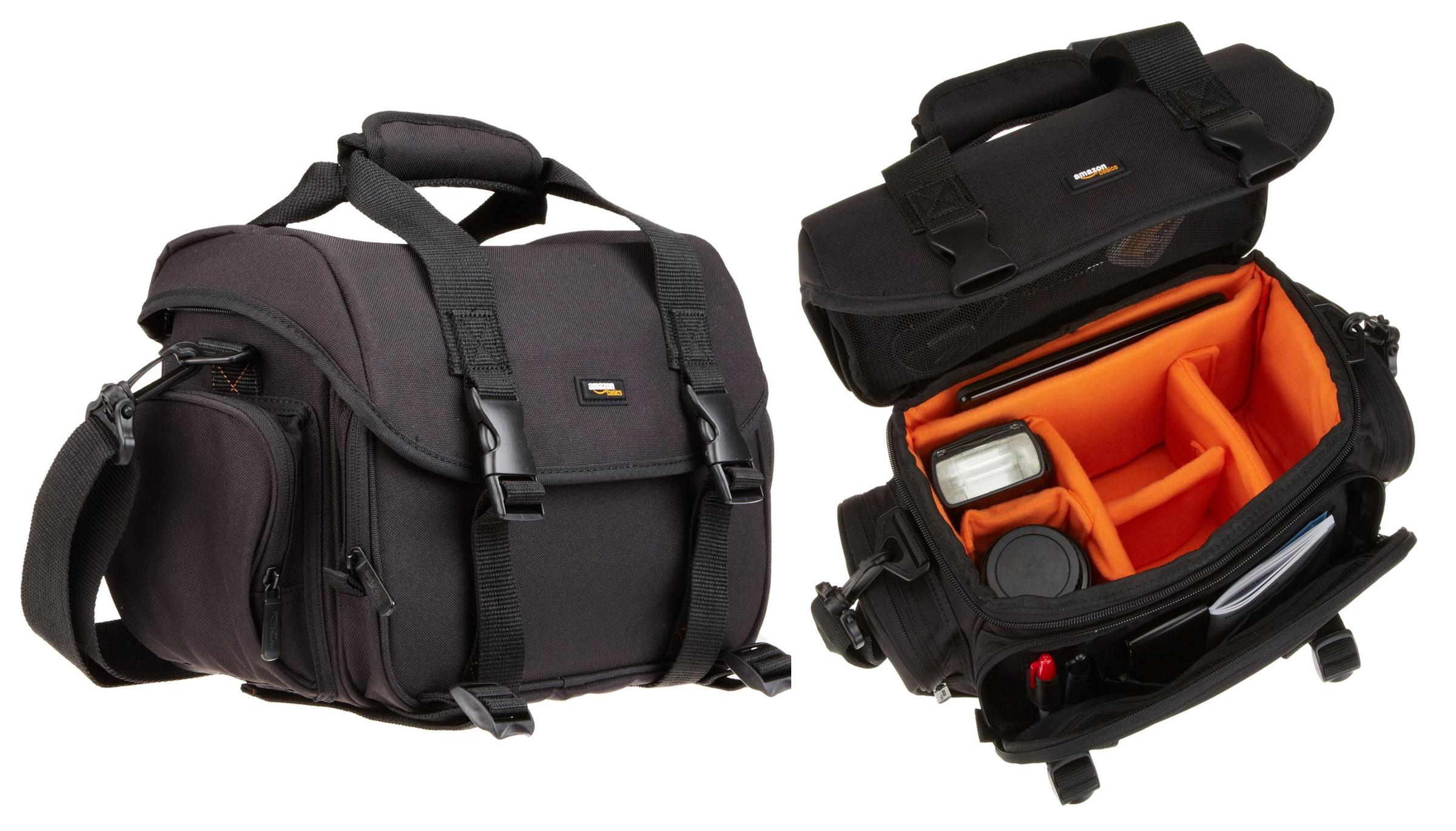 Amazonbasics borsa grande per fotocamera e accessori for Accessori macchina