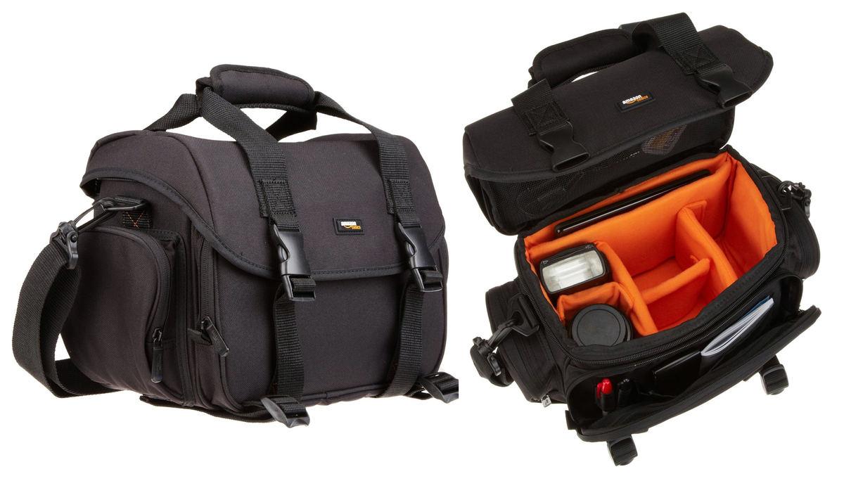 2f4649af25 AmazonBasics - Borsa grande per fotocamera e accessori ...