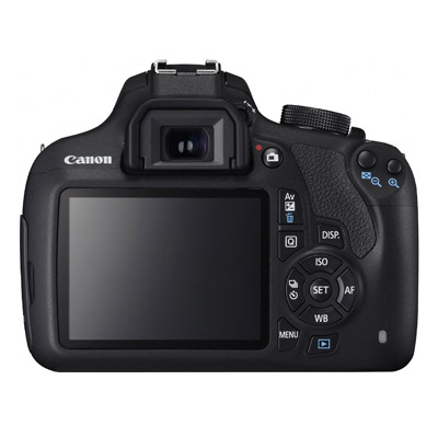 Canon 1200D, back