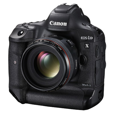 Canon 1DX Mark II, front