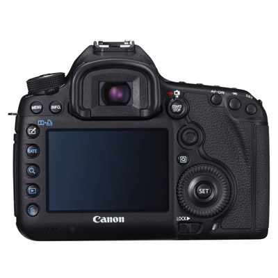 Canon 5D Mark III, back