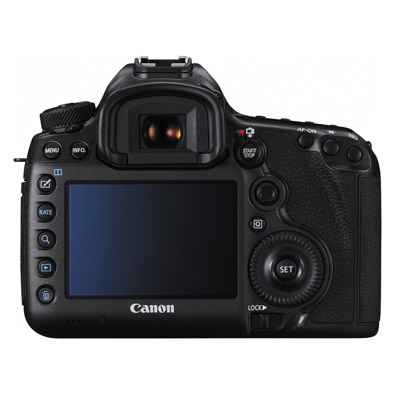 Canon 5Ds, back