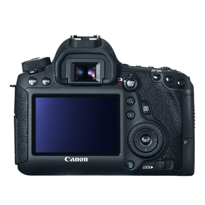 Canon 6D, back
