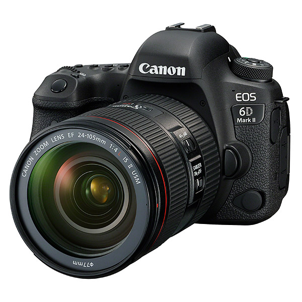 Canon 6D Mark II, front