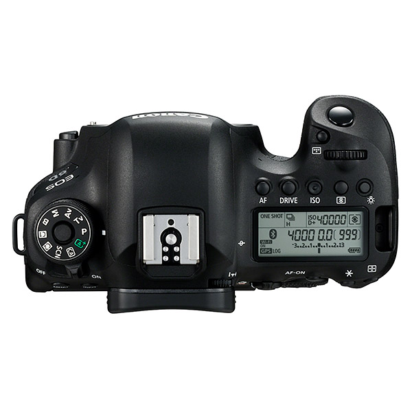 Canon 6D Mark II, top