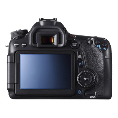 Canon 70D, back
