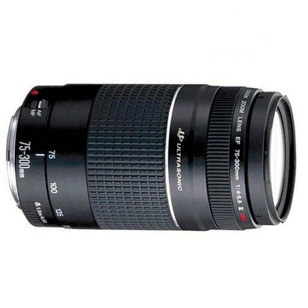 Canon Ultrasonic EF 75-300mm f//4-5.6 III Lens