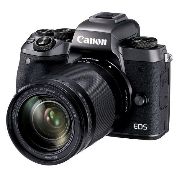 Canon EOS M5, front