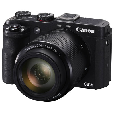 Canon PowerShot G3 X, front