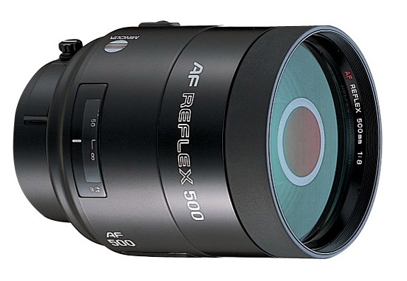 Minolta Af Reflex 500mm F 8 Specifications And Opinions