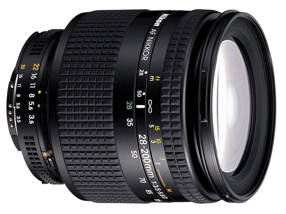 Lens 200mm Nikon Nikon af 28-200mm F/3.5-5.6 d