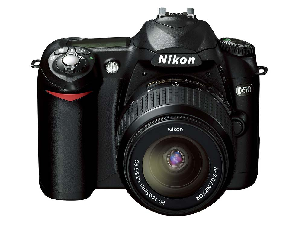 Nikon D50 : Specifications and Opinions | JuzaPhoto