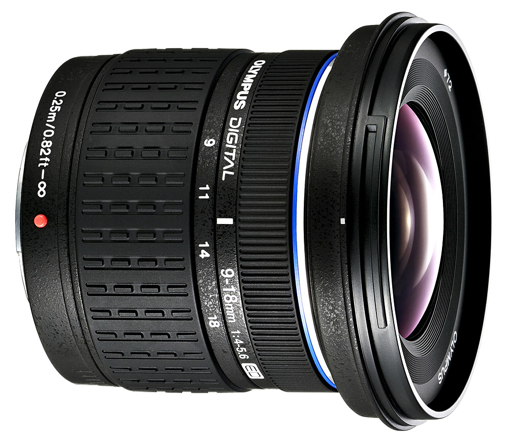 Olympus Zuiko Digital ED 9 18mm F 40 56