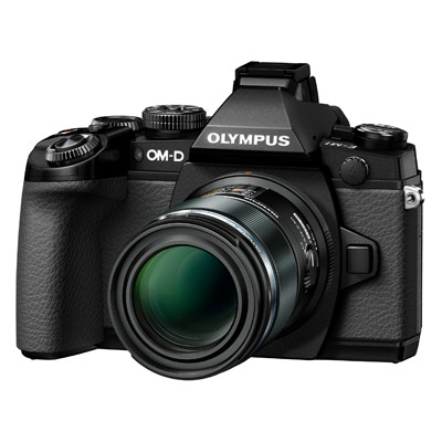 Olympus OM-D E-M1, front