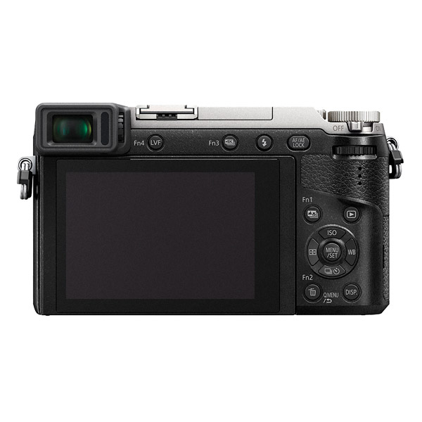 Panasonic GX80 / GX85, back