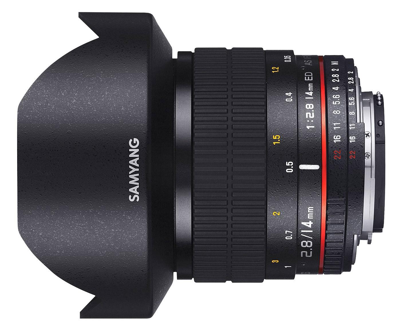 Samyang 14mm f2 8 ed as if umc nikon mount 100 genuine for Samyang 14mm nikon