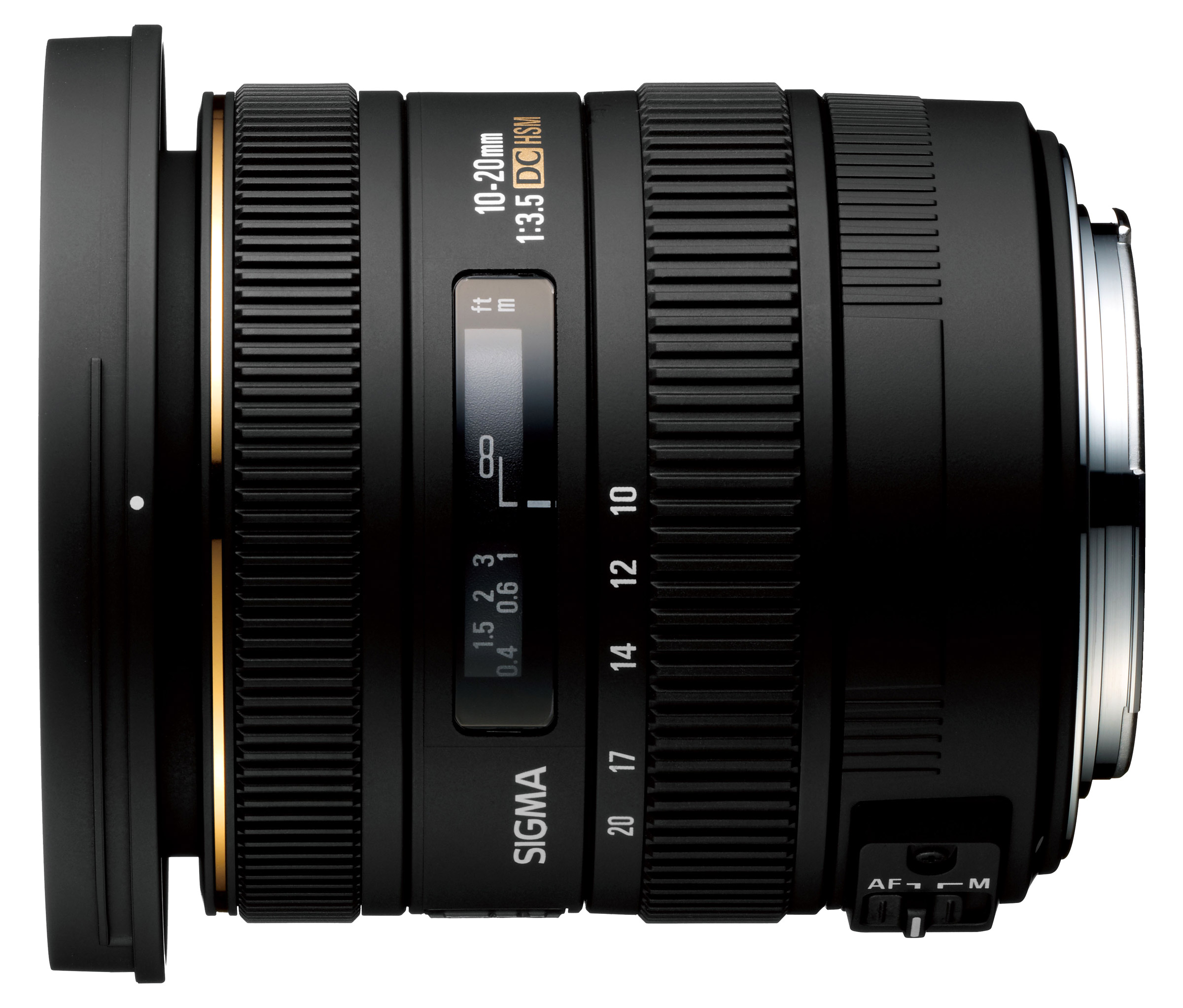 Sigma 10-20mm f/3.5 EX DC HSM : Specifications and ...