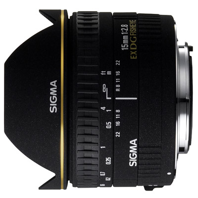 Sigma 15mm f/2.8 EX DG Diagonal Fisheye