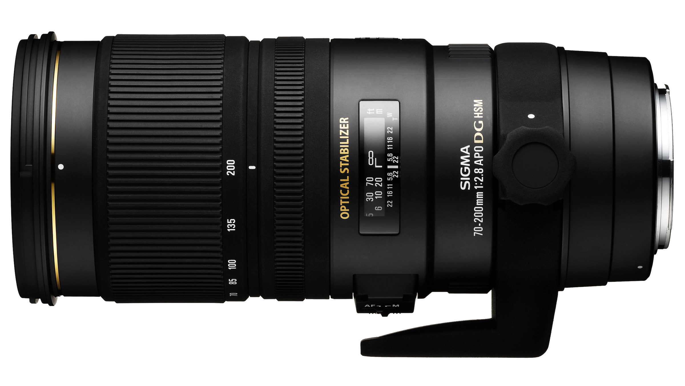 Sigma 70-200mm f/2.8 EX DG OS HSM : Specifications and ...