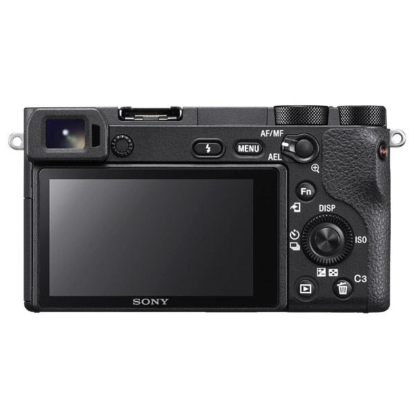 Sony A6500, back