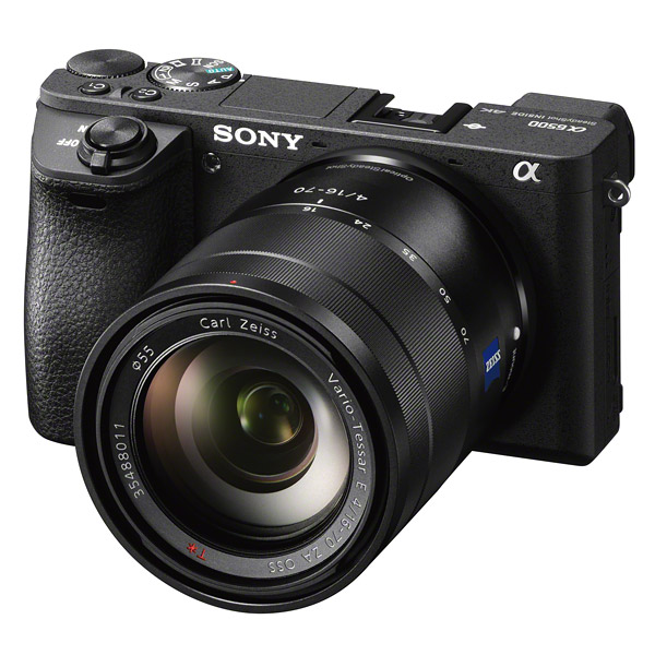 Sony A6500, front
