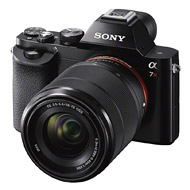 Sony A7r, front