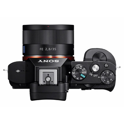 Sony A7r, top