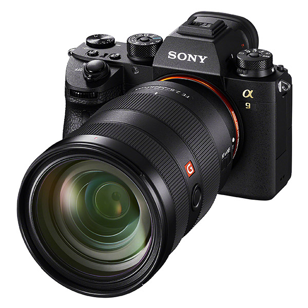 Sony A9, front