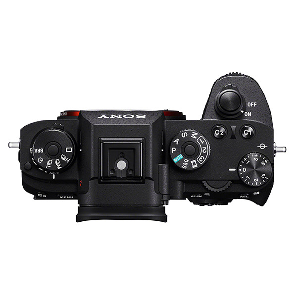 Sony A9, top