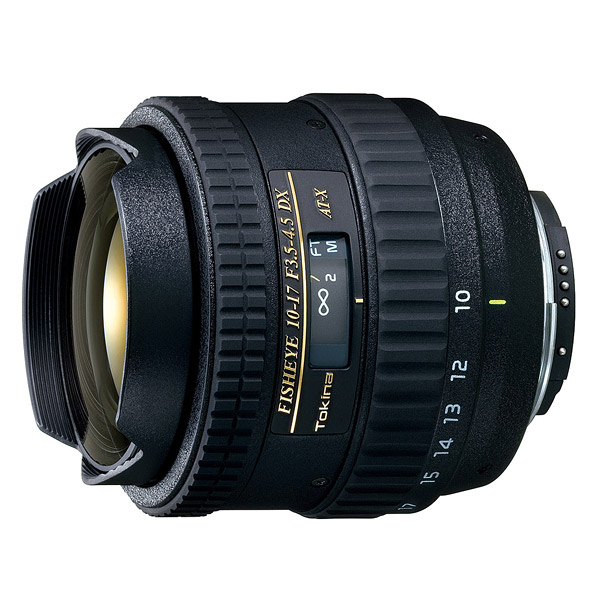 Tokina AT-X 10-17mm f/3.5-4.5 DX Fish-eye