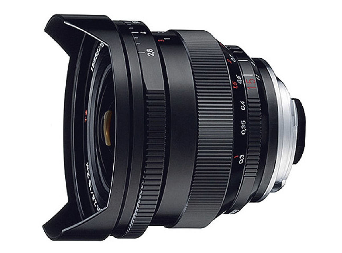 Zeiss ZM Distagon T* 15mm f/2 8 : Specifications and